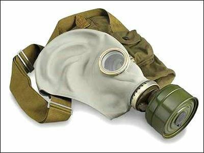 Противогаз - фактически единственный способ избежать поражения фосгеном