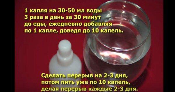 Как принимать перекись водорода по Неумывакину