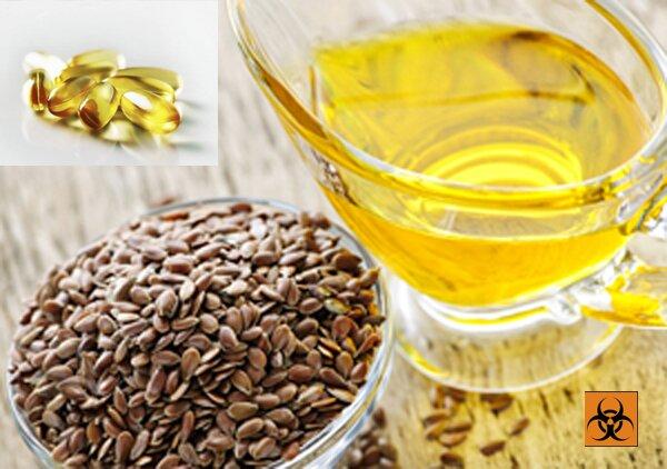 Льняное масло жидкое и в капуслах