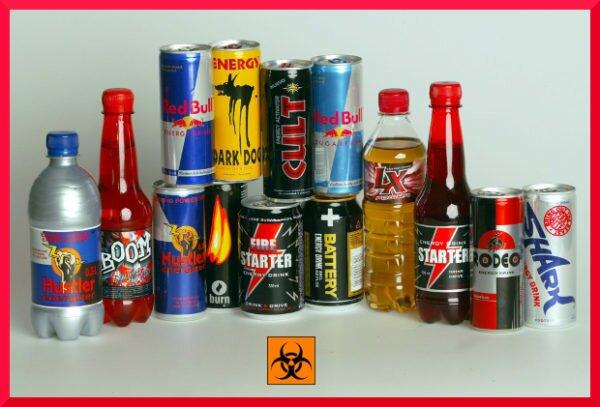 Энегретические напитки - вредны или нет